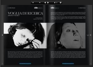 STILE ITALIANO MAGAZINE n° marzo-aprile 2012 INTERVISTA A CESI BARAZZI